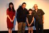 (左から)百合沙さん、TAK ∴さん、近藤結良さん、西村喜廣監督 写真を拡大
