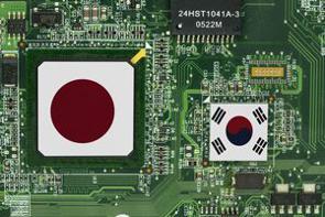 2019年7月に日本が半導体材料の輸出管理を強化したことを受けて、韓国は半導体材料や部品、製造装置の「日本依存」からの脱却を目指してきたとされる。(イメージ写真提供:123RF)