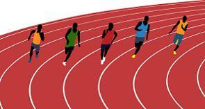 中国メディアは、男子200メートル決勝で中国の謝震業選手が19秒88のアジア新記録を出したことを報じる一方で、同種目のアジア歴代トップ10には日本人が7人も入っていると報じた。(イメージ写真提供:123RF)